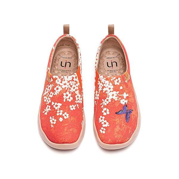Women's Fashion Floral Art Sneaker