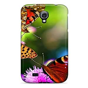 GnhQuJz4054blSXr Beauty Butterfly Fashion Tpu S4 Case Cover For Galaxy
