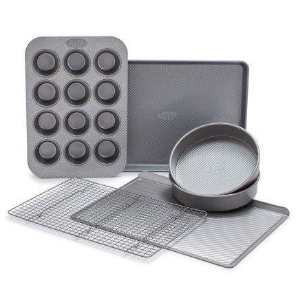 Sur La Table Platinum Professional Bakeware 21601ST , Set of 6 by Sur La Table