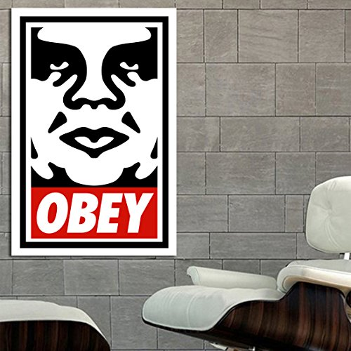 Poster Mural Obey Hypebeast 40x58 inch (100x147 cm) on Adhesive Vinyl by SDK mural