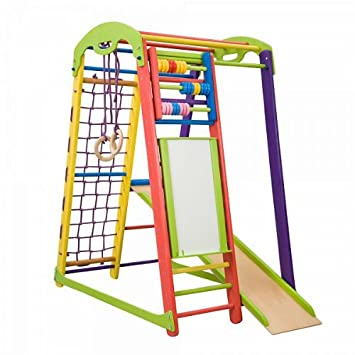 Activity Center Mit Rutsche Junior Color Plus Schwedischen