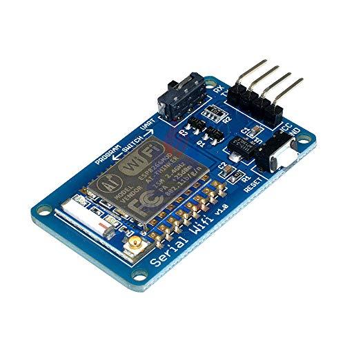 ESP8266 ESP-07 ESP07 Wifi シリアルトランシーバ無線基板モジュール 3.3 V 5 V 8N1 TTL UART ポート Arduino の UNO R3