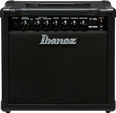 Ibanez Electric Guitar Mini Amplifier, Black (IBZ15GR)