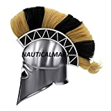 Greek Corinthian Armor Helmet With Plume BY NAUTICALMART