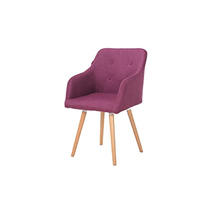 Amazon.com: DYFYMX,elegante taburete sillones de madera ...
