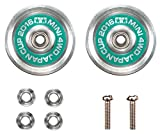 Mini 4WD limited 19 mm aluminum bearing roller