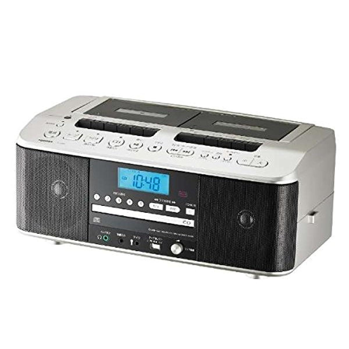 [해외] 도시바 CD 대응 더블 카세트 TY-CDW99