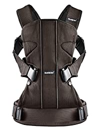 BABYBJORN Baby Carrier One - Brown/Black, Mesh BOBEBE Online Baby Store From New York to Miami and Los Angeles