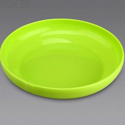 Kaxima Placa de plástico placa de vajilla de la casa conjunto de plato occidental bandeja plato