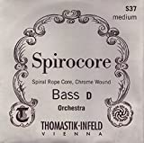 Thomastik Spirocore, Double Bass Strings, Complete Set, 3886, 3/4 Size, Solo Tuning