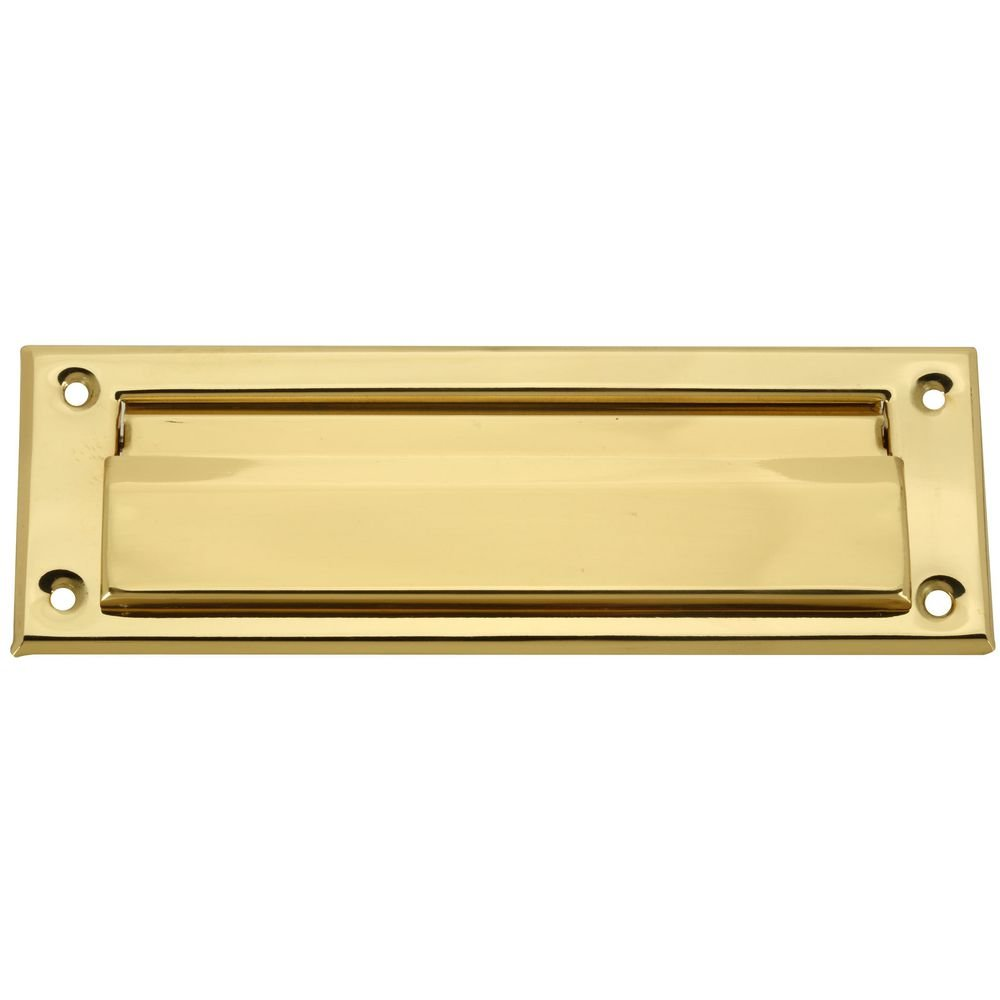 National Hardware N197-913 V1911 Mail Slot in Solid Brass