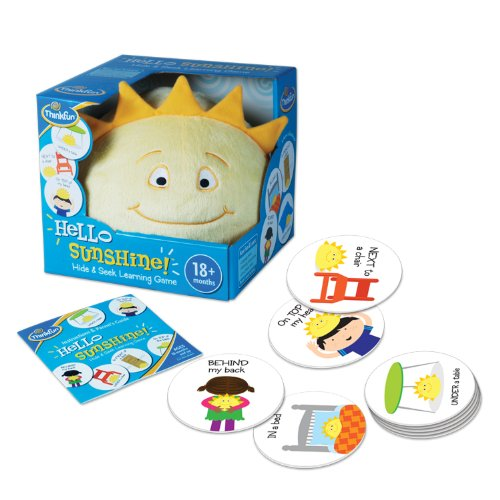 Think Fun Hello Sunshine Game (Roll Leapfrog)