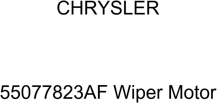Genuine Chrysler 55077823AF Wiper Motor