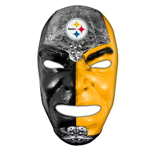 Franklin Sports NFL Pittsburgh Steelers Team Fan Face Mask ()