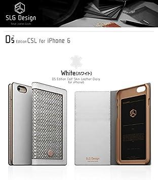 0d94f1609e iPhone6s ケース iPhone6 ケース 4.7インチ 本革 SLG Design D5 Edition Calf Skin Leather  Diary