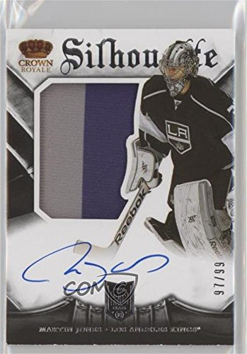 Martin Jones #97/99 (Hockey Card) 2013-14 Panini Rookie A...