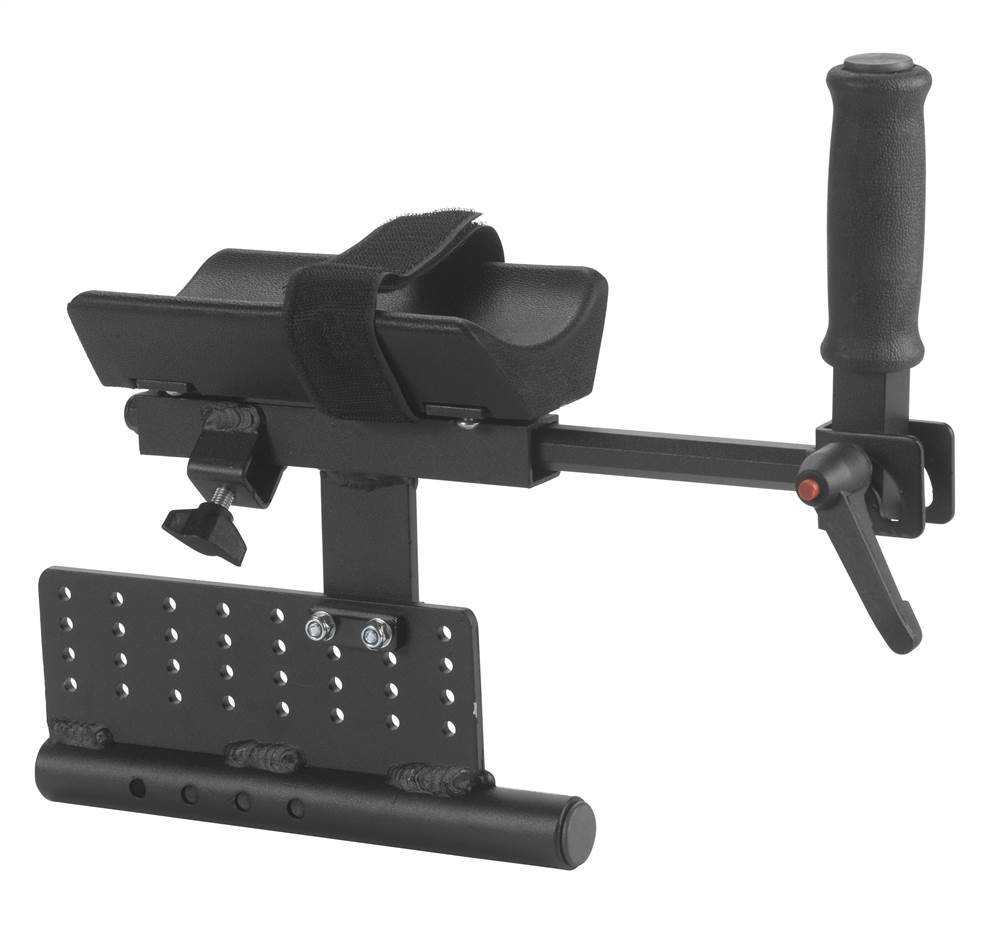 Platform Attachment in Black Finish (12 in. L x 4 in. W x 10 in. H (6 lbs.)) by Wenzelite Rehab (Image #1)