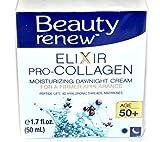 (US) Beauty Renew Elixir Pro-COLLAGEN Moisturizing Day/Night Cream 50+