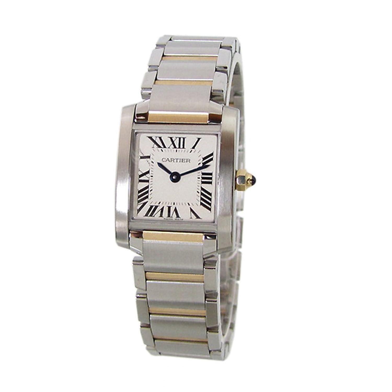 カルティエ 時計 タンクフランセーズ イエローゴールド コンビ Cartier レディース 腕時計 W51007Q4新品 【並行輸入品】 [時計] B00D78829I