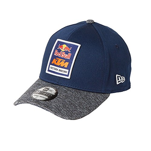 Red Bull KTM Factory Racing Space Dye Fitted Hat Navy Blue/Heather Grey M/L