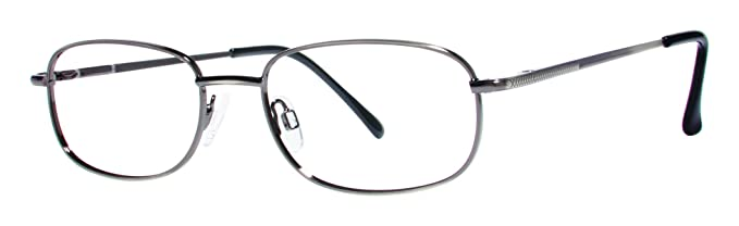 f320b2868fd Icon Unisex Eyeglasses - Modern Collection Frames - Antique Silver 51-19-135