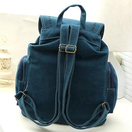 Amazon.com : Brown Tassel Bag Women Backpack Bag Bolsa ...