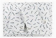 Pepe Jeans, Juego de Sábanas (sábana de cajón y sábana Plana) con Dos Fundas para Almohada, Modelo Shibori Blu