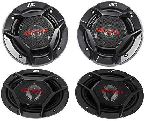 "JVC CS-DR620 6.5"" 300w Car Audio Speakers+ CS-DR6930 6x9"" 1"