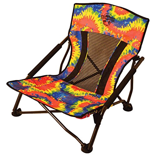 Crazy Creek Quad Beach and Festival Chair – Tie-Dye