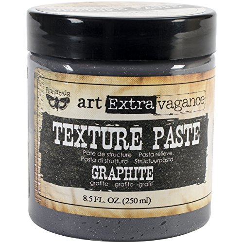 Prima Marketing Art Extravagance Texture Paste, 8.5-Ounce, Graphite by Prima Marketing