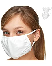 The Premium Everyday FACE MASK – Debrief Me - Powerful Protection w/Superior AntiPollution Melt Propylene & Staycool Cotton – Ultra-Comfortable, Portable, Foldable Lightweight (2) Mask Pack