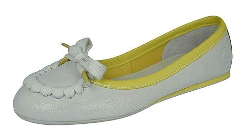 Puma Decker Slip on Bateau en Cuir Chaussures Femme: Amazon