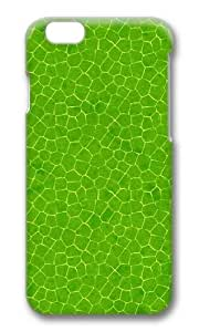 MOKSHOP Adorable Green leaves 2 Hard Case Protective Shell Cell Phone Cover For Apple Iphone 6 Plus (5.5 Inch) - PC 3D