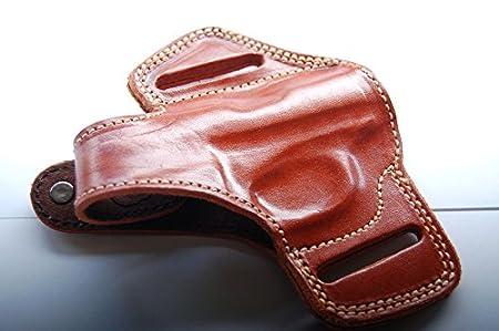 Cal38JB Beretta 950 Jetfire Beretta Minx Handcrafted Leather Belt Holster Black Tan