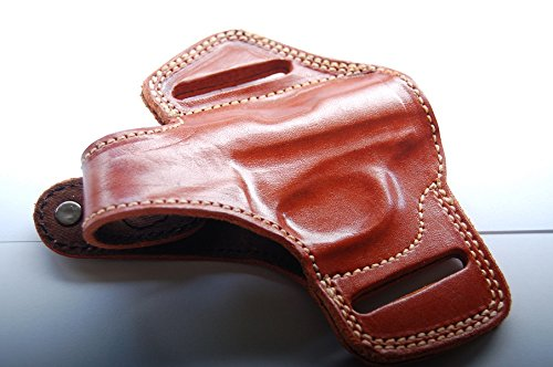 Beretta 20,21A Bobcat Belt Leather Holster (Tan)