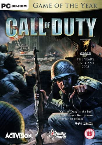 Call Of Duty Game Of The Year Edition Pc Call Of Duty 4 Amazon Co Uk Pc Video Games