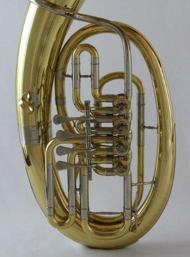 Schiller Elite 4-Valve Rotary Euphonium - Gold Lacquer