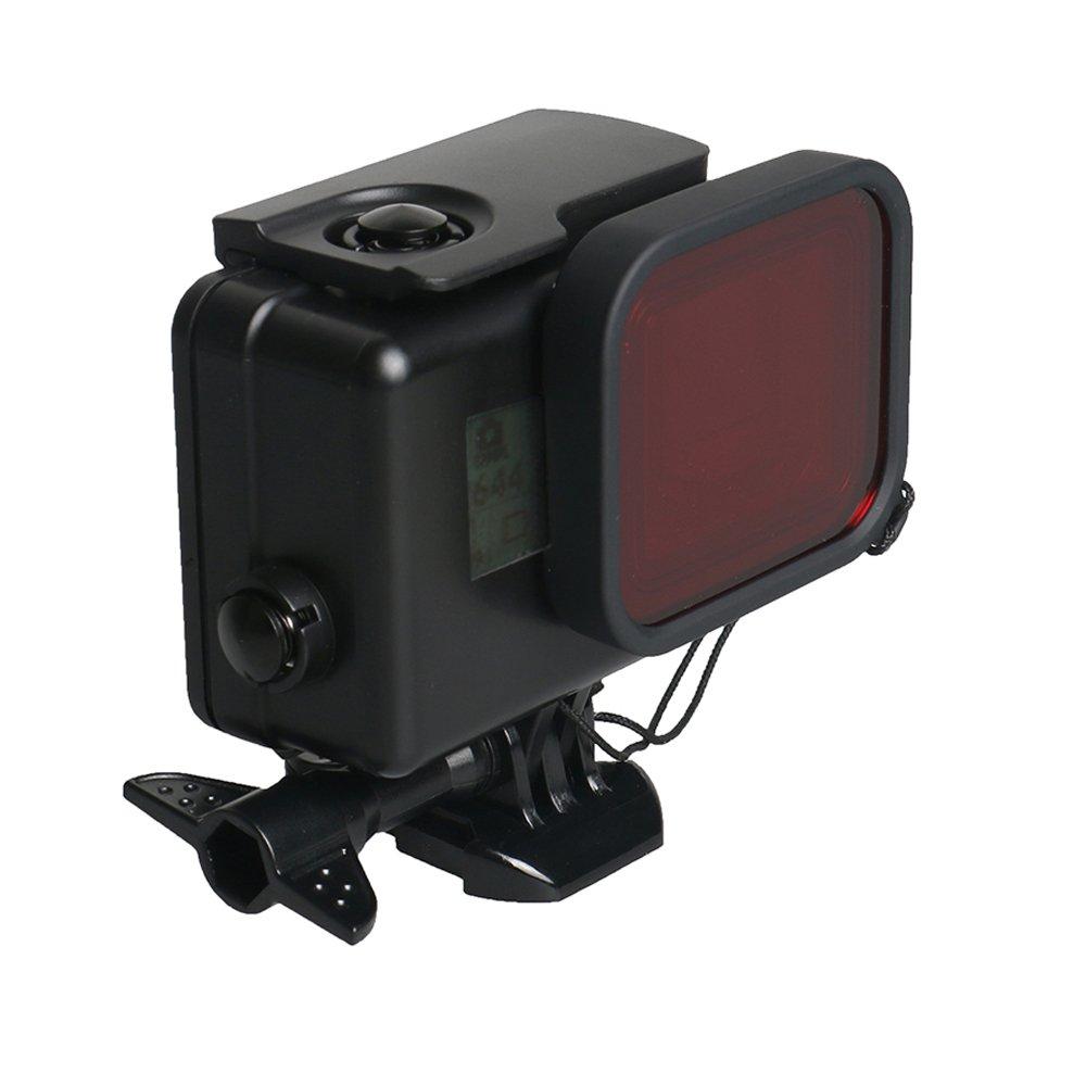 防水ハウジングケースfor GoPro Hero 6 / 5ブラック防水ケースダイビング保護ハウジングシェル45 M withブラケットアクセサリーfor Go Pro hero6 hero5カメラアクションカメラ   B078HVSXY2