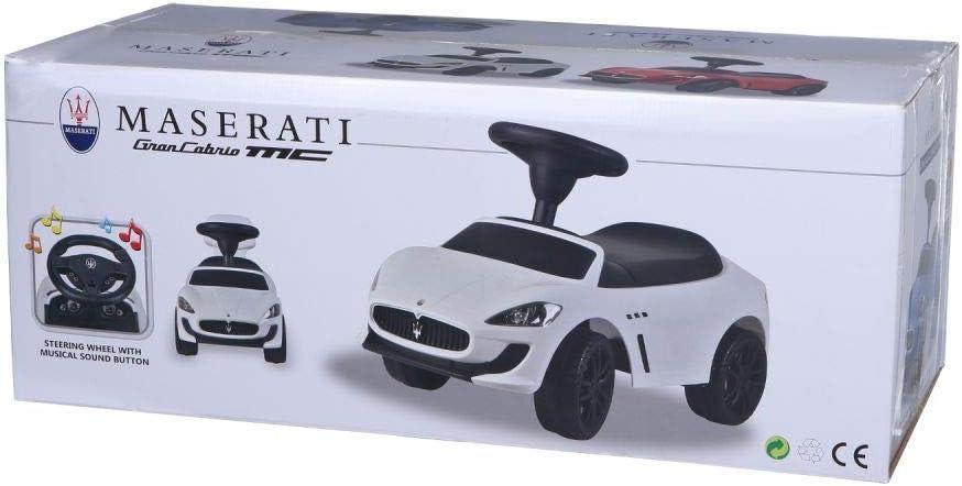 Coche Infantil con tobog/án y Licencia Maserati