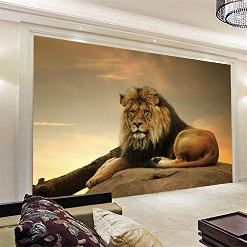 Powerful Captivating And Majestic Lion Wall Art Animal