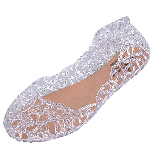 jelly ballerina shoes - 8