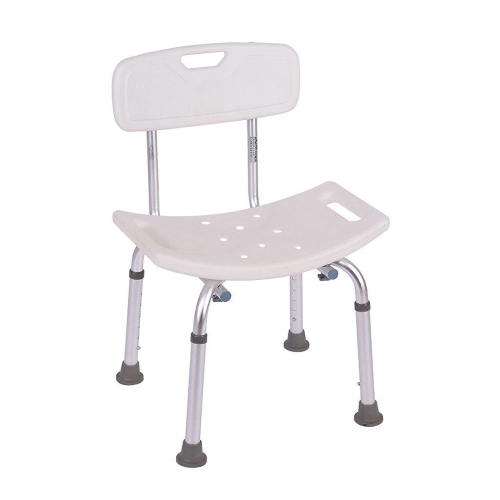TH シャワーチェア 背中の高齢者のシャワースツールの椅子妊婦のバスルームスツールのバスチェア 風呂椅子 B07BW128Q9