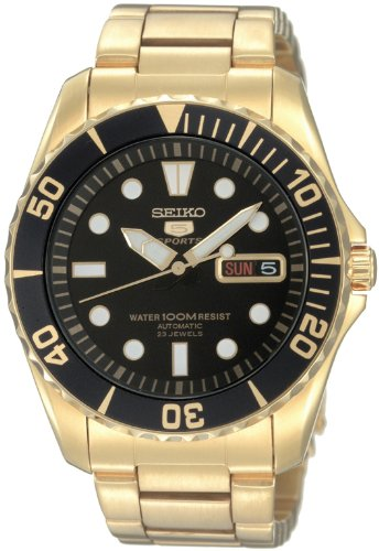 SEIKO Men's Watch SEIKO 5 SPORTS automatic day date back overseas model (made in Japan) SNZF22JC