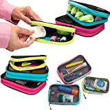 Travelon Set 3 Travel Packing Squares Cubes Organizers Makeup Toiletry Case Bag