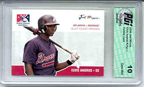 Elvis Andrus 2006 Just Minors Rookie Card PGI 10