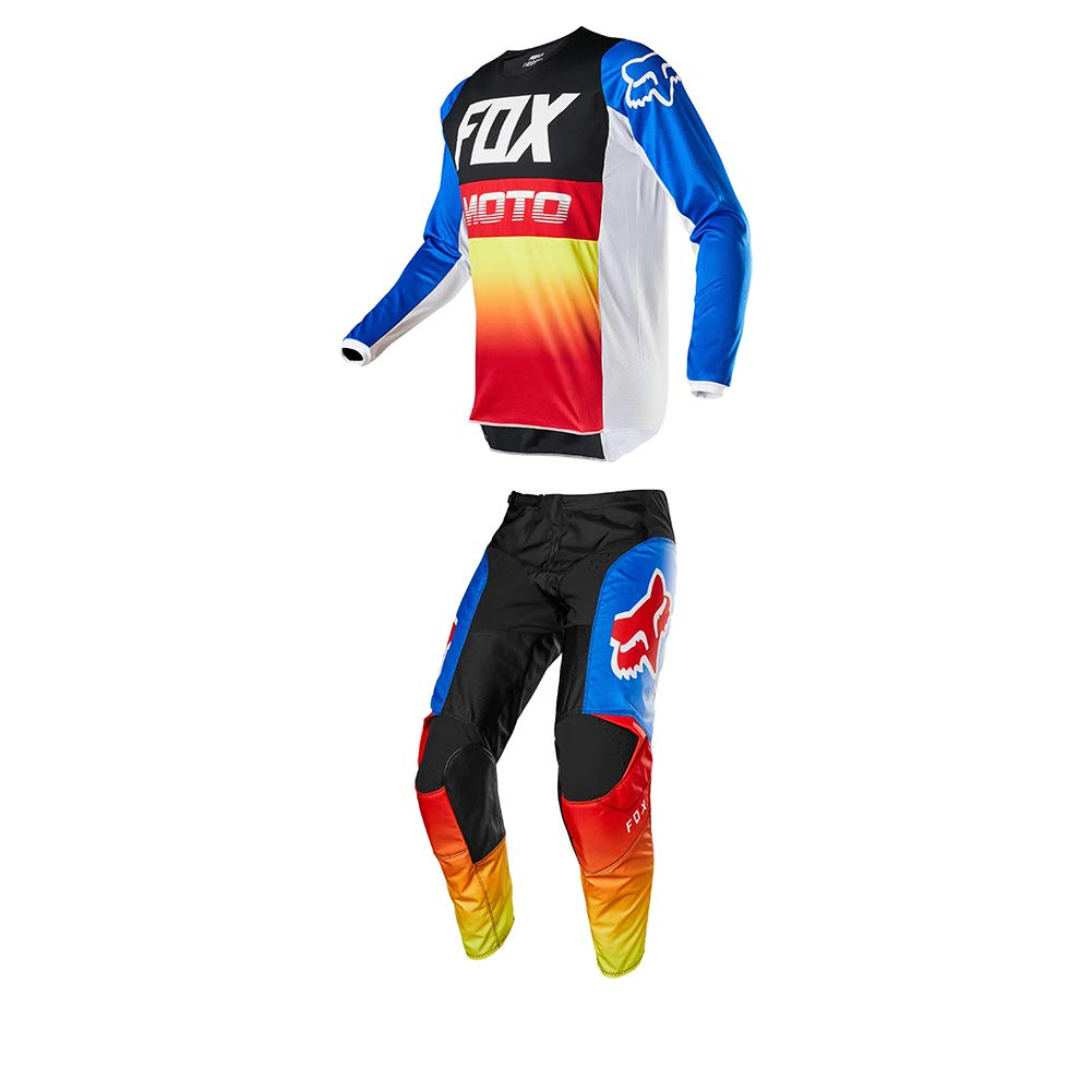 M//24 Fox Racing Youth 180 Fyce Jersey//Pants Set-