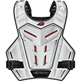 EVS Revolution 4 Phantom Adult Roost Guard MX/Off-Road/Dirt Bike Motorcycle Body Armor - White / One Size