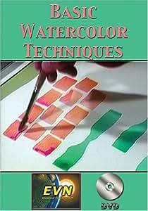 Basic Watercolor Techniques DVD