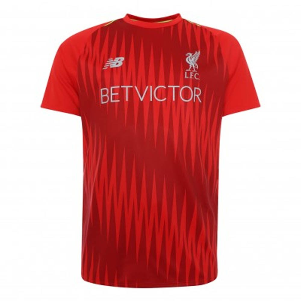 2018-2019 Liverpool Elite Pre-Match Training Shirt (Red) B07CVWCP65Red Medium 38-40\