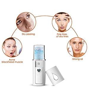 SHENNOSI Spray Handy Nano Mister Facial Steamer Facial Mist Face Sprayer